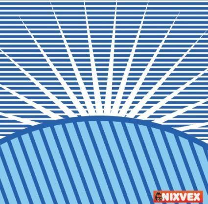 free vector VixVex Free Vector Op Art Background with Sun Burst