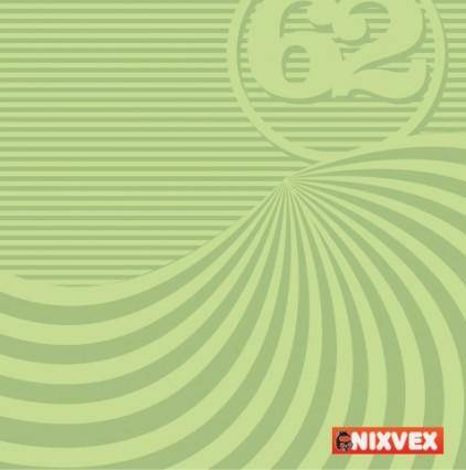 free vector NixVex Free Vector of Op Art Background in Green