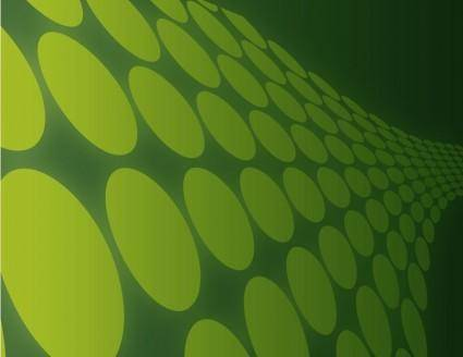 Dotted Retro Vector Background