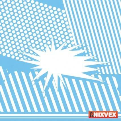 NixVex Free Blue Vector Background