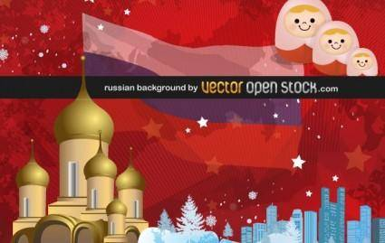 free vector Russian background