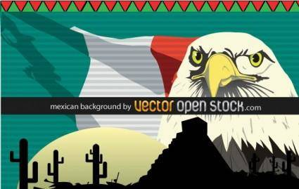 free vector Mexican Background