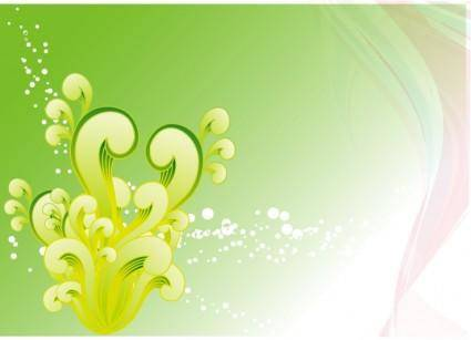 Swirly Vector Background