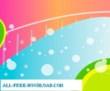 free vector Colored design background