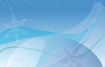 free vector Background Winter