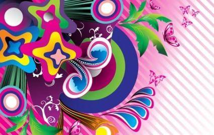 free vector Wonderful Backgrounds