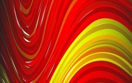 free vector Red Yellow abtsract background