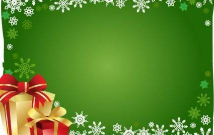 free vector FREE VECTOR CHRISTMAS GIFT AND BACKGROUND