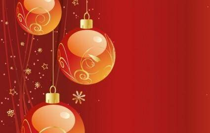 free vector FREE VECTOR CHRISTMAS BACKGROUND