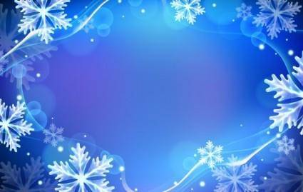 free vector Winter Backgrounds