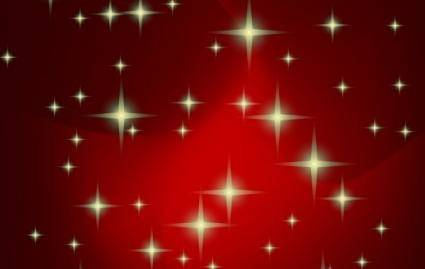 Red vector xmas background