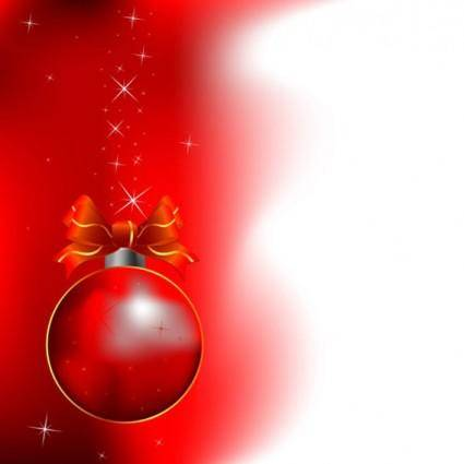 free vector Red Christmas Background