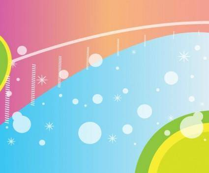 free vector Colored Background Design