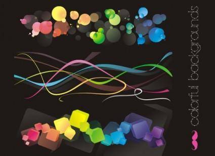 free vector Colorful backgrounds