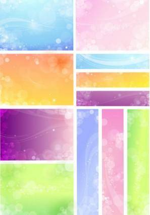 free vector Free flowery vector backgrounds 04