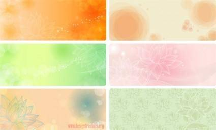 free vector Free flowery vector backgrounds 02