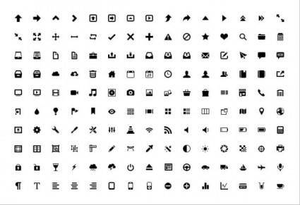 The exquisite icons vector 18889