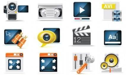 free vector Technology icon 02 vector