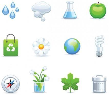free vector Environmental icon vector