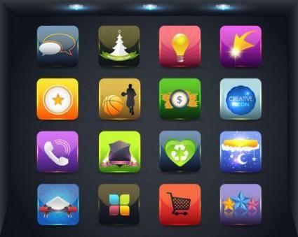 free vector Web icon button 04 vector