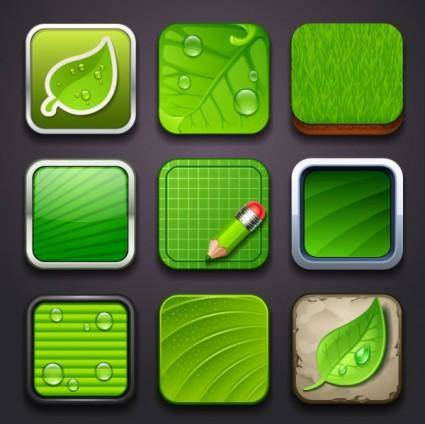 free vector Creative environmental icon 02 vector