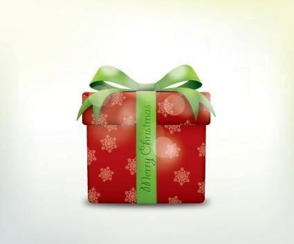 free vector Christmas gift box icons vector