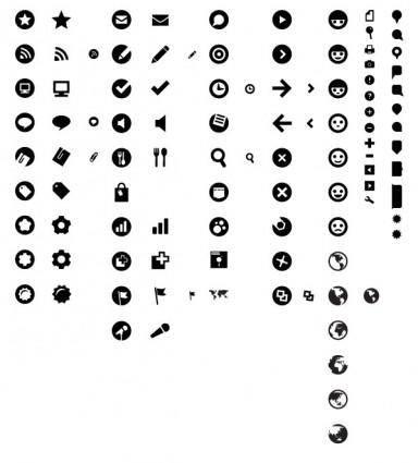free vector Practical web design icon vector