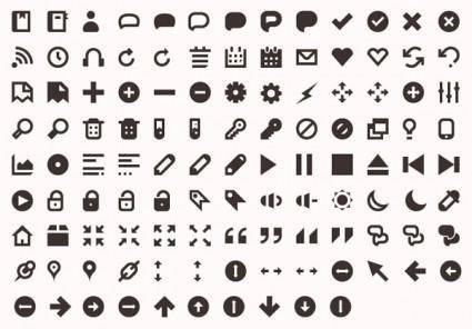 free vector More than 120 utility icon vector