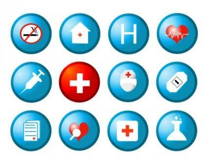 free vector Health circular icon vector