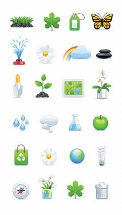 A variety of icon set 01 vector