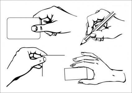 free vector Practical gesture vector a