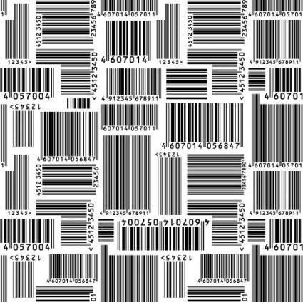 free vector Bar code vector