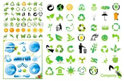 Environmental icon vector