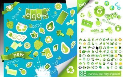 free vector Environmental icon vector series