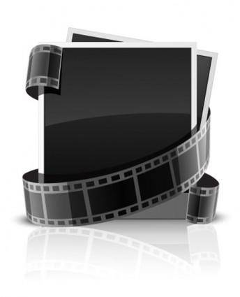 free vector Vector film frame film