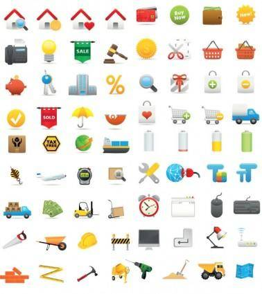 free vector Living icon vector
