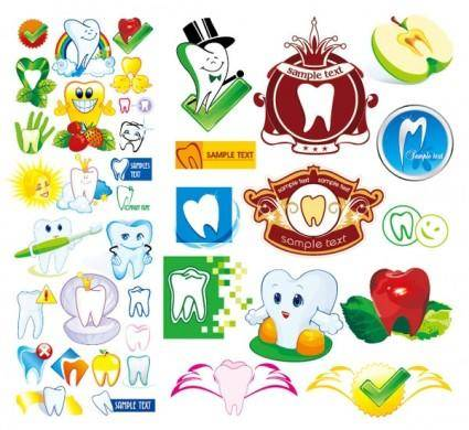 free vector Protect teeth cartoon icon vector