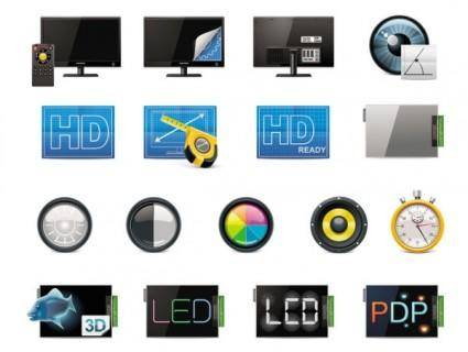 free vector Technology icon 04 vector