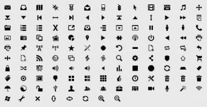 Simple graphic decorative icon vector 2 single download available