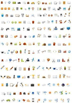 free vector Simple and practical web page icon vector
