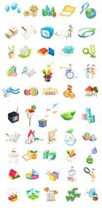 free vector Cute icon vector