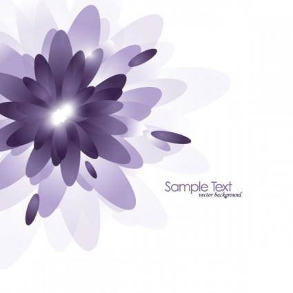 Brilliant purple elements 03 vector