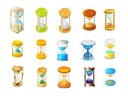 free vector Hourglass icon vector