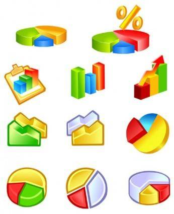 free vector Practical statistics class icon vector