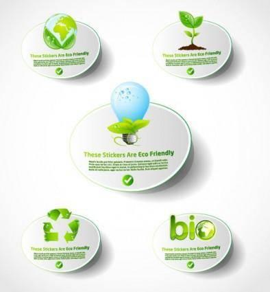 free vector Environmental icon vector 2 lowcarbon life