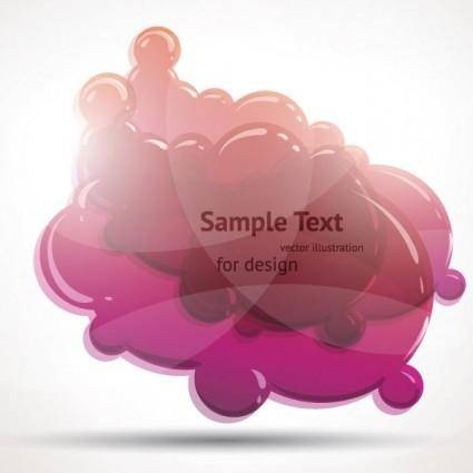 Crystal clear graphics vector 2 cloud