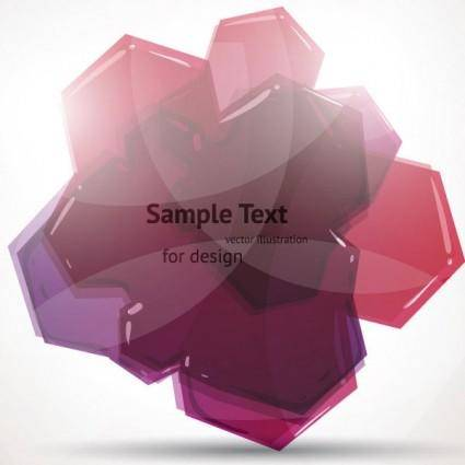 free vector Crystal clear graphics vector 4 cloud