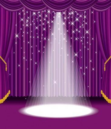 free vector Stage vector 4