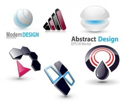 6 3d vector graphics icon