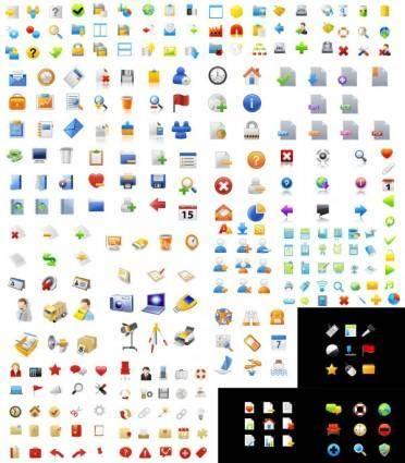 free vector Icon go exquisite articles vector